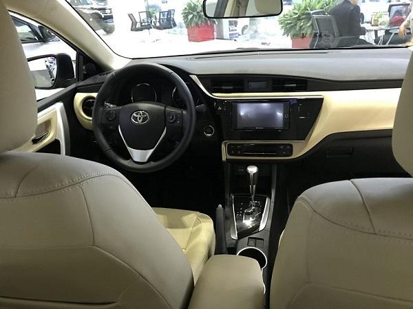 noi that Toyota Corolla Altis 2021 mau den