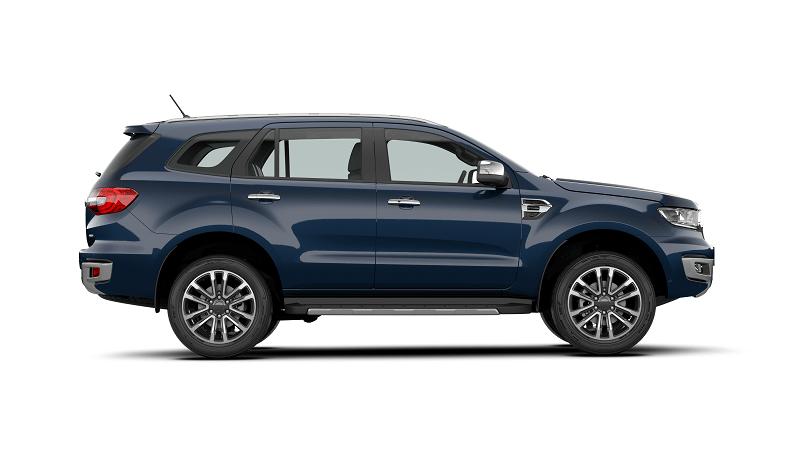 Ford Everest 2.0L Bi Turbo Titanium 4WD 2021 mau xanh 1 min