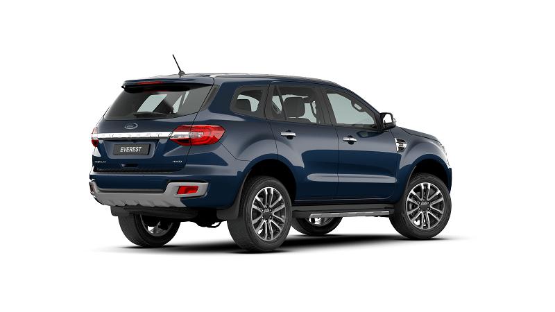 Ford Everest 2.0L Bi Turbo Titanium 4WD 2021 mau xanh 2 min