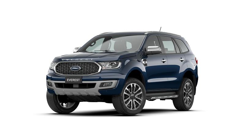Ford Everest 2.0L Bi Turbo Titanium 4WD 2021 mau xanh 6 min