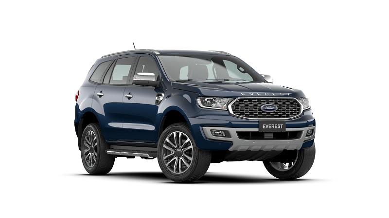 Ford Everest 2.0L Bi Turbo Titanium 4WD 2021 mau xanh 8 min