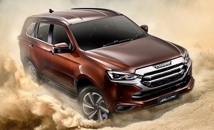 2021 Isuzu MU X off road